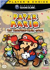 Paper Mario Thousand Year Door Nintendo Gamecube Game Complete
