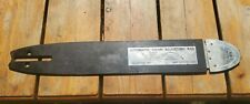 "Vintage Automatic Tensioning Chainsaw Bar, 18"" 3/8"" .050"" rare collectible"