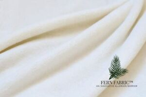 Fern Fabric® Fitted Mattress Protector Anti-Allergen & Waterproof
