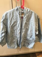 Boys Mini Man Blue Raincoat Good Condition Size 8 French