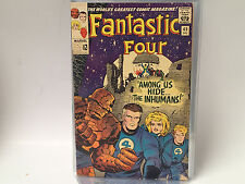 FANTASTIC FOUR #45 Marvel Comics 1965 VG Intro/ 1st app. of The Inhumans