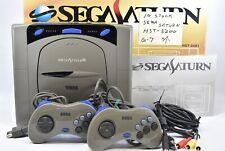 Sega Saturn GREY Console System Boxed HST-3200 DHL ship Japan No2