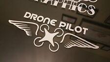Drone Pilot Wings Vinyl decal Sticker DJI Inspire Phantom Vision.
