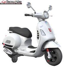 Moto Elettrica Per Bambini Piaggio Vespa GS GTS Super BIANCO