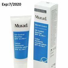Murad Oil-Control Mattifier SPF 15 - Larger 1.7 oz New in Box  Exp 7/2020