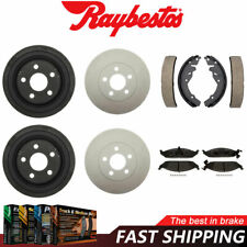 For 2001-2006 Nissan Sentra R1 Concepts Pro Fit Brake Shoes Rear