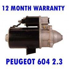 PEUGEOT 604 2.3 2.5 1979 1980 1981 1982 1983 - 1986 RMFD STARTER MOTOR