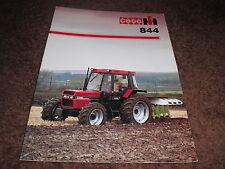 CASE IH 844 tractor brochure leaflet