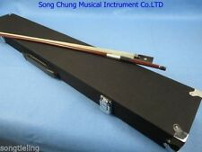Strong black bow case for 6pcs violin bows 4/4,water-repellent cloth #6053