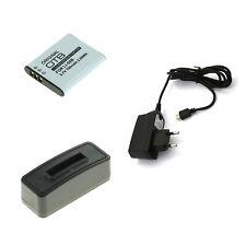 Akku und USB Ladegerät für Olympus VR-340 VR-350 VR-360 Li-50B
