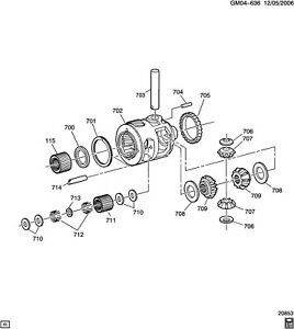 GENUINE GM 19125757 Front / Rear Final Drive Carrier (3.29 Ratio) 1995-2011 GM