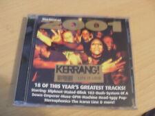 THE BEST OF 2001 KERRANG -SLIPKNOT/BLINK182/BUSH/IGGY POP/MUSE