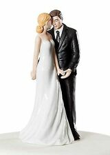 Wedding Bliss Romantic Wedding Cake Topper HAIR COLOR CUSTOMIZATION Gift Party
