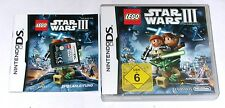 "Nintendo DS JEU ""LEGO star wars III (3) the clone wars"" complet"
