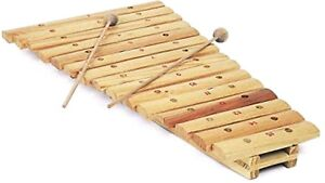 Toy Xylophones Wooden 15 Note Musical Instruments For Kids