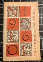 1960 METROPOLITAN  MUSEUM OF ART CHRISTMAS CARDS ORDER BOOK