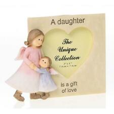 Daughter Angel Resin Photo Frame Gift With Scripts Boxed 3 x 3 65572