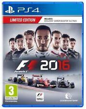 F1 2016 -- Limited Edition (Sony PlayStation 4, 2016)