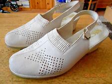 Sandalen beige Leder Gr. 38 von ACO