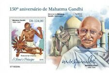 St Thomas - 2019 Mahatma Gandhi - Stamp Souvenir Sheet - ST190204b