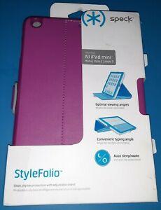 🌍 Speck Stylefolio Case Cover iPad Mini 1 ,2,3,Open Box ‼️