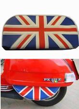 Lambretta & vespa Union Jack Spare Wheel & Backrest Pad Cover