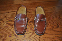 NWOT!! Womens COLE HAAN Brown Leather Shoes Size 5.5 M MADE IN BRAZIL