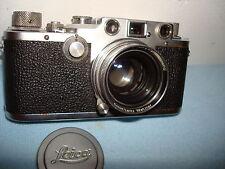 Vintage LEICA D.R.P Camera No. 446470 LENS ERNST LEITZ WETZLAR Germany