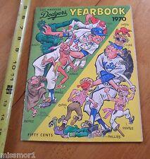 1970 Los Angeles Dodgers Yearbook magazine vintage VG