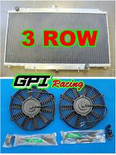 Aluminum Radiator for NISSAN GU PATROL Y61 PETROL 4.5L 97-01 AT/MT + FANS