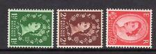 SG517a-519a Tudor Crown S/W Set UNMOUNTED MINT