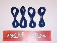 4 Hanks of Blue String & Erector Set Flag