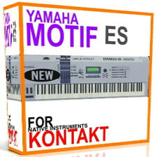 YAMAHA MOTIF ES For NI KONTAKT NKI Samples/Presets/Sounds 5 DVD'S 15GB
