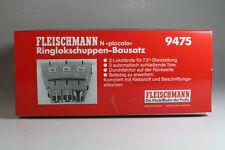 Fleischmann 9475 Ringlokschuppen-Bausatz für Drehscheibe, Neuware.