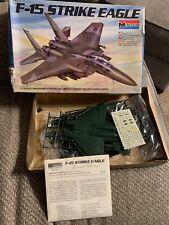 2 Kits, Monogram F-15 Strike Eagle 1/72 Desert Storm Sticker, 1990s early