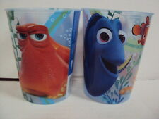 DISNEY FINDING DORY, NEMO & HANK 2 x PLASTIC CUPS 16oz BPA FREE MADE IN USA NEW