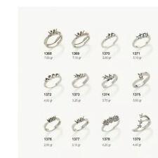 Anello Trilogy oro 18 kt e diamanti carati 0,51 -  sconto 50 %