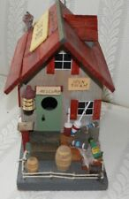 Wooden Bait Shop Bird House