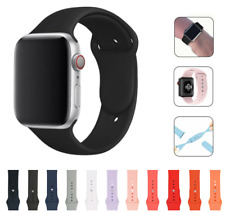 For Apple Watch Strap Band iWatch Series 6 SE 5 4 3 38/40/42/44mm Silicon Sport