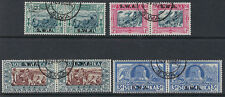 SOUTH WEST AFRICA: 1938 Voortrekker Memorial Fund set  SG105-8 fine used pairs