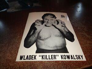 wladek killer kowalsky Quebec grand prix wrestling black & white lutte press pho