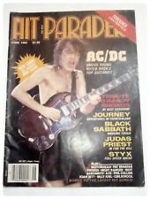 HIT PARADER JUNE 1983 AC/DC ANGUS YOUNG OZZY OSBOURNE BLACK SABBATH JUDAS PRIEST