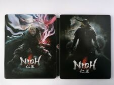 Video Game Nioh custom paint Iron disc box case for PS4 Xbox disk
