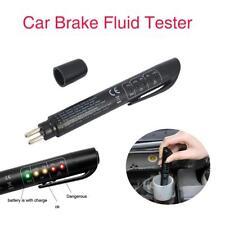 Brake Fluid Tester LED Moisture Water Compact Tool DOT3 4 Test Indicator Pen SR