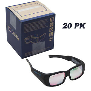 (20 Pack) Dolby 3D - IMAX 3D for Laser Projection Glasses