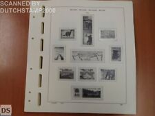 Used Schaubek album pages - Belgium - 2002-2004 (36 pages)