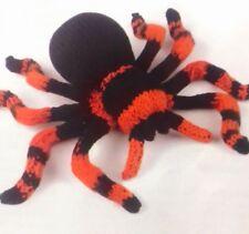 Tarantula spider toy knitting pattern
