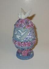 Dove and Devotion G DeBrekht Box White Birds Pink Purple Blue Trinket