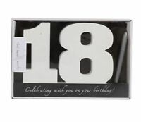 Wooden Birthday Signature Plaque ~ Happy 18Th Birthday Gift