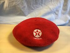 Vintage Red Texaco Beret - extremely rare RED color!